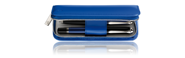 Pelikan Pen Pouch 2 Blue - Pencraft the boutique