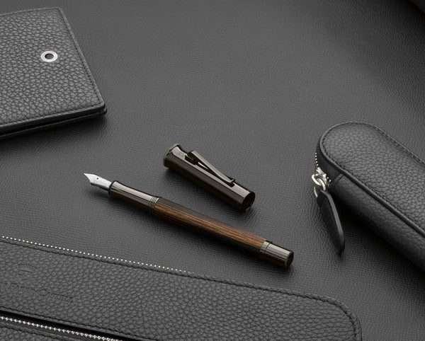 Graf von Faber Castell Classic Macassar Black Edition Fountain Pen - Pencraft the boutique