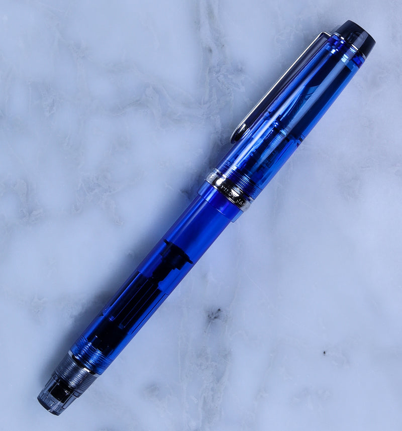 Pilot Custom Heritage 92 Blue Fountain Pen - Pencraft the boutique