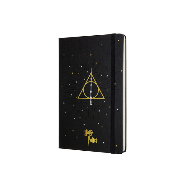 Moleskine Limited Edition Harry Potter Notebook Ruled Large Black - Pencraft the boutique