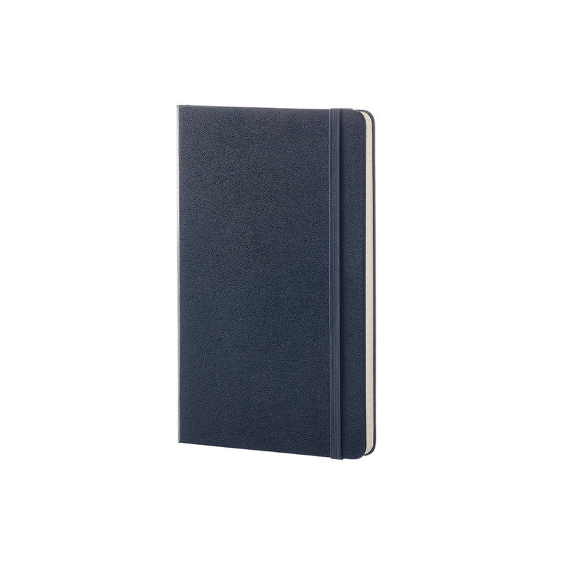 Moleskine Classic Hard Cover Notebook Ruled Large Sapphire Blue - Pencraft the boutique