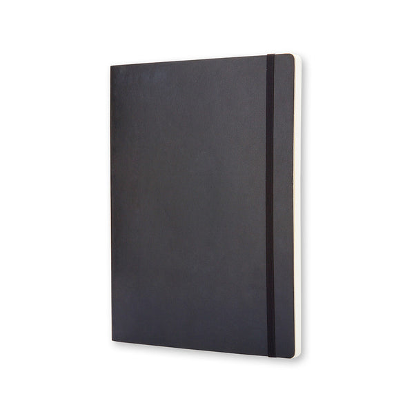 Moleskine Classic Soft Cover Notebook Plain Extra Large Black - Pencraft the boutique