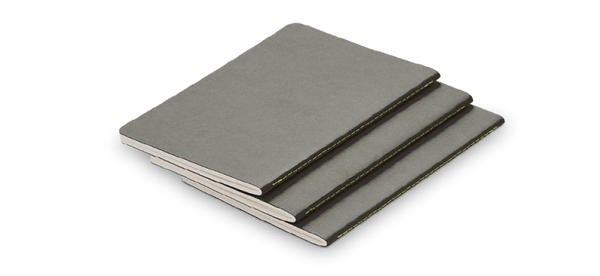 LAMY Notebook Cahier A6 Grey (Set of 3) - Pencraft the boutique