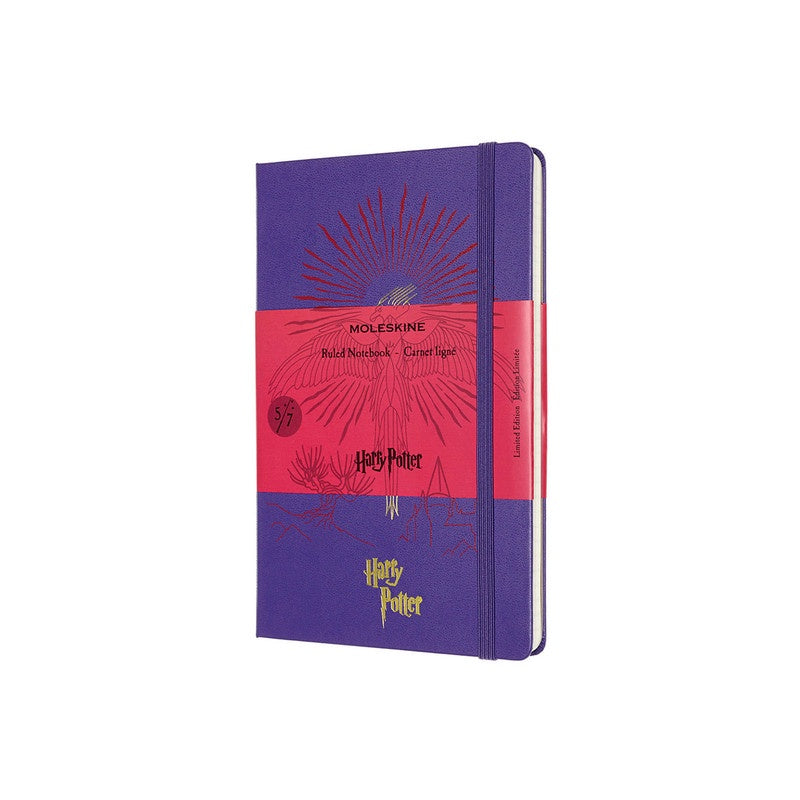 Moleskine Limited Edition Harry Potter Notebook Ruled Large Brilliant Violet - Pencraft the boutique