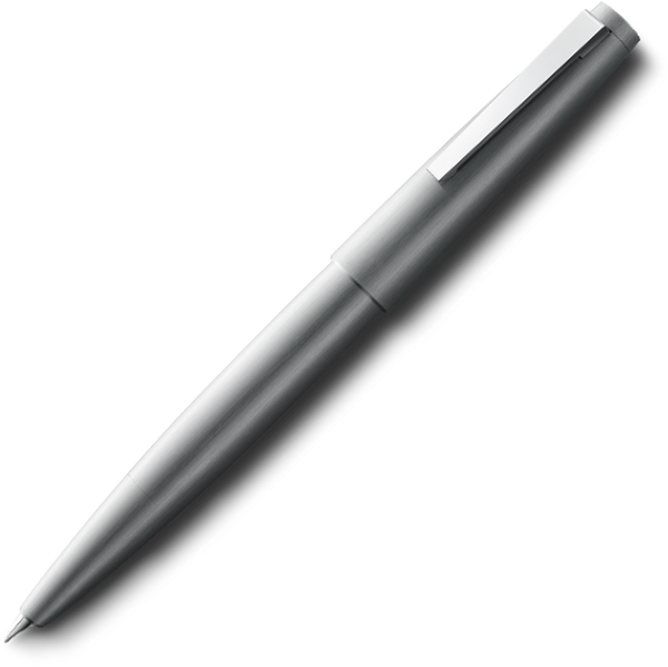 LAMY 2000 Brushed Stainless Steel Fountain Pen - Pencraft the boutique