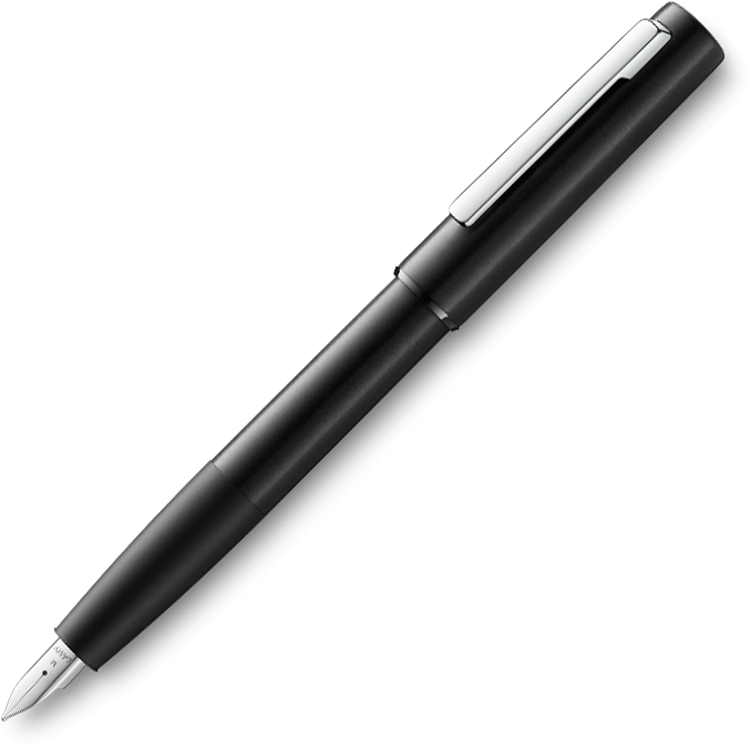 Lamy Aion Black Fountain Pen - Pencraft the boutique