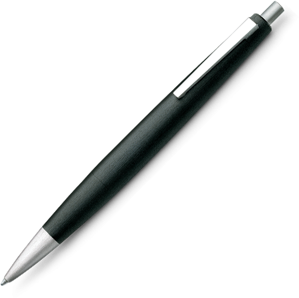LAMY 2000 Black Ballpoint - Pencraft the boutique