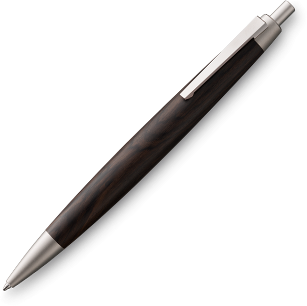LAMY 2000 Black Wood Ballpoint - Pencraft the boutique