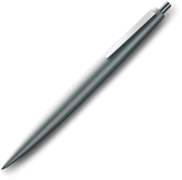 LAMY 2000 Brushed Stainless Steel Ballpoint - Pencraft the boutique