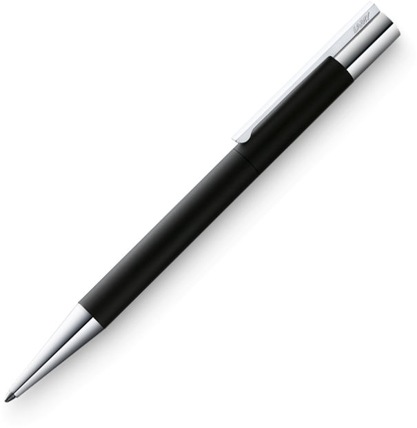 LAMY Scala Matte Black Ballpoint - Pencraft the boutique