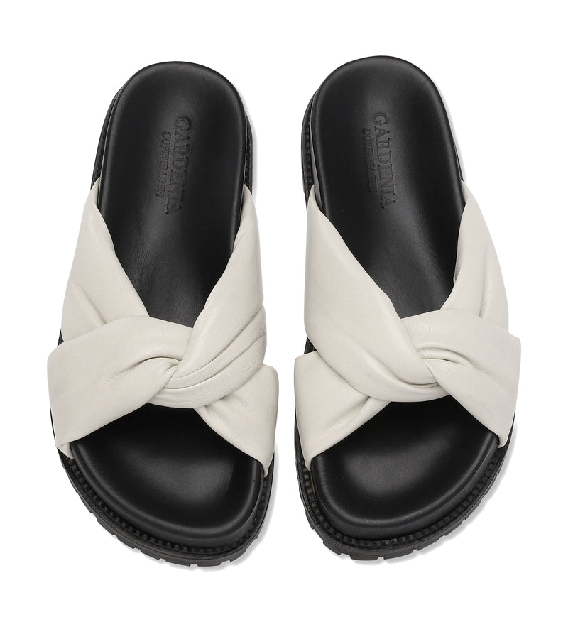Gardenia Copenhagen Bellis Slipper Off White