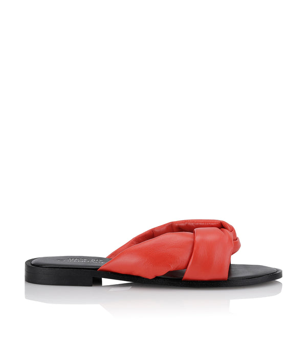 Shoe Biz Hedvig Slipper Orange