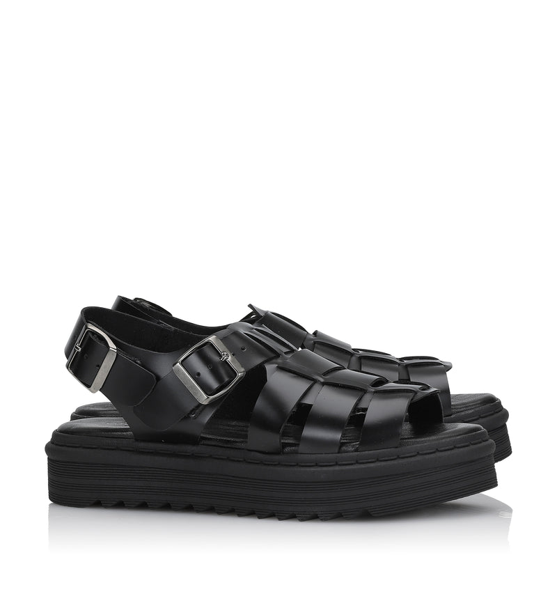 Shoe Biz Nio Sandal Black