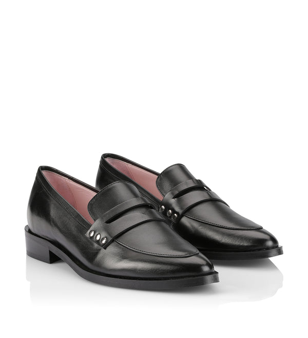 Gardenia Copenhagen Othello Loafer Black
