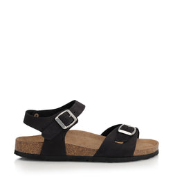 Shoe Biz Puk (0548) Sandal Black