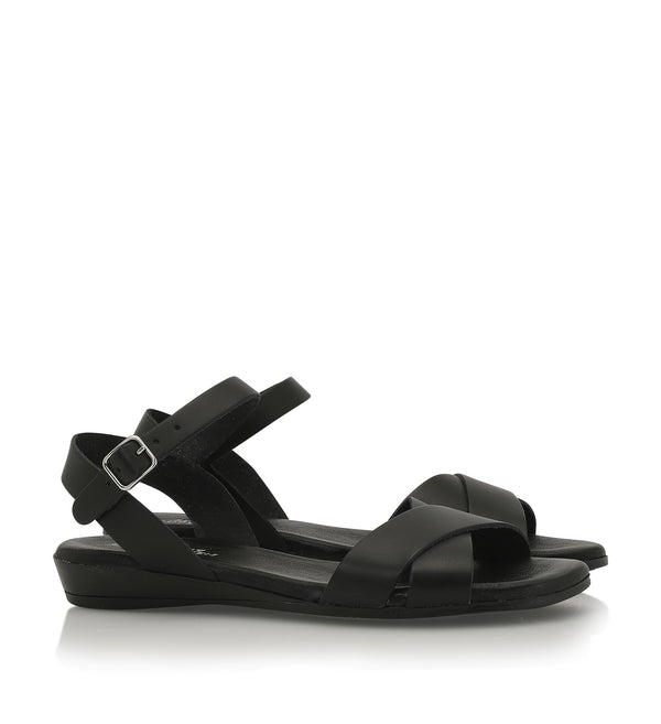 Shoe Biz Siva Sandal - Soft Black