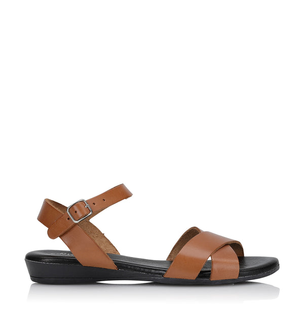 Shoe Biz Siva Sandal - Soft Tan