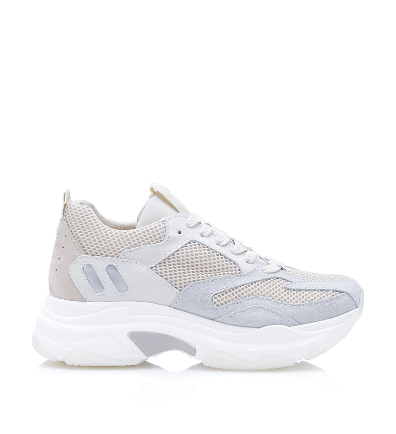 Shoe Biz Pilou Sneaker Cream / White