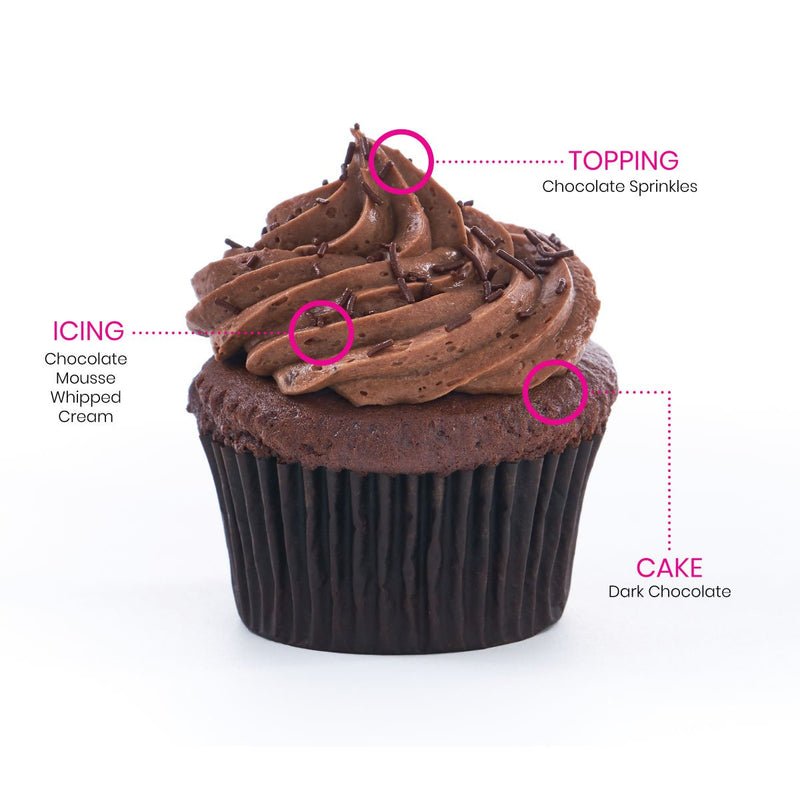 Gigi's Cupcakes, Chocolate Mousse