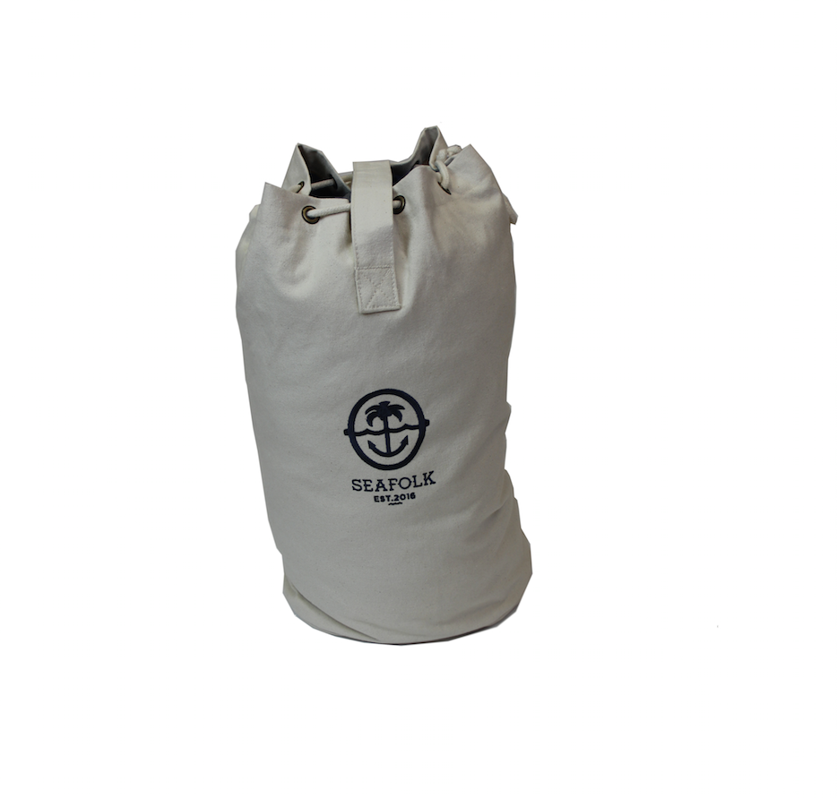 Palm & Anchor - Canvas Duffel Bag