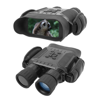 "High Tech Night Vision Infrared Binoculars w/ 4"" OLED Screen"