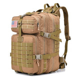 45L Army Tactical Backpack 3P EDC Molle Pack