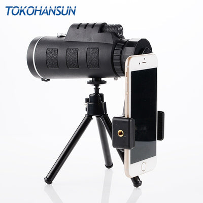 Aviator Pro 40X Zoom Telescope w/ Tripod - Compatible with All Phones
