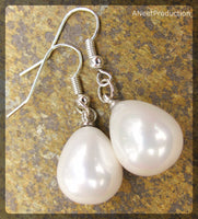 Pearlised Drop Earrings