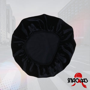 "Babies Velvet ""Black Knight"" Bonnet"