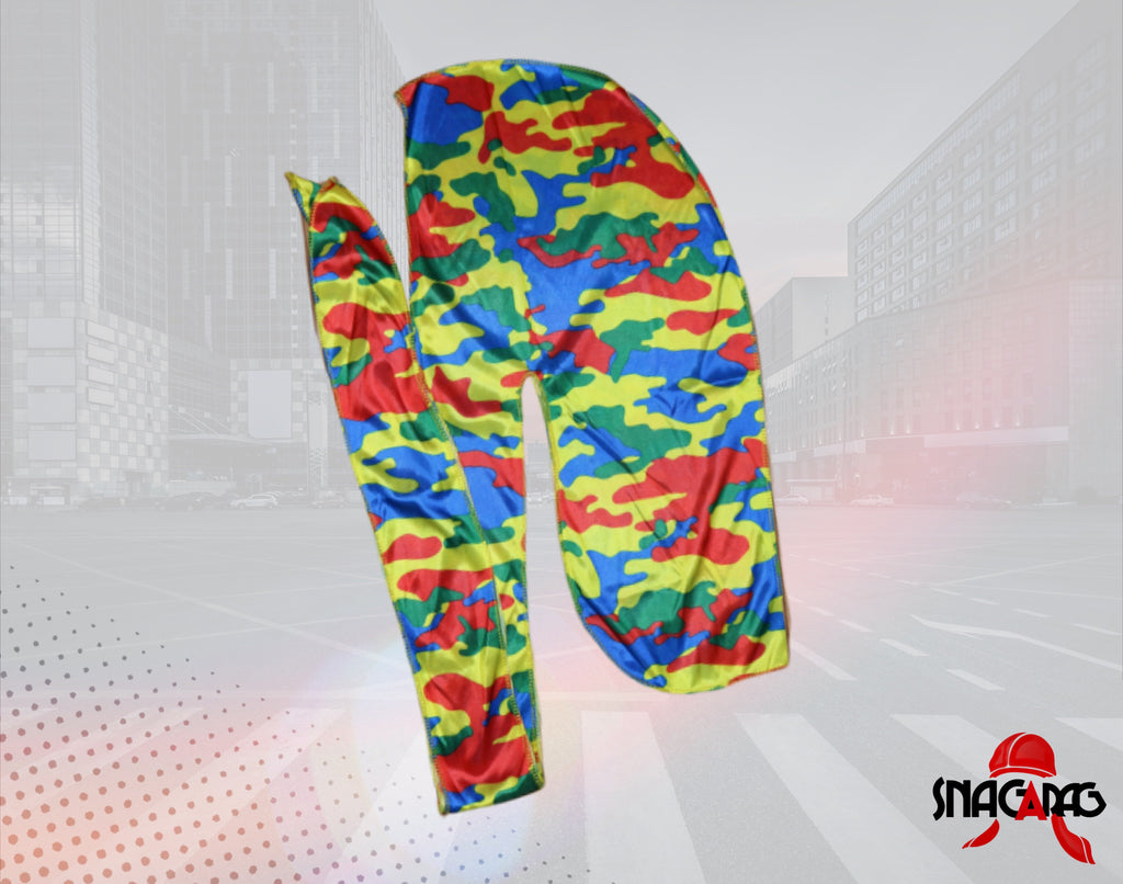 "Silk ""Multi Color Camouflage"" SnagARag"
