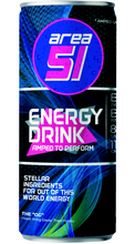 Load image into Gallery viewer, Area 51 Energy 12oz  -- 12 pack (tray) - Blank Space (Mixed Berry)