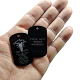 SBS Dog Tag - Skull and Beard Society