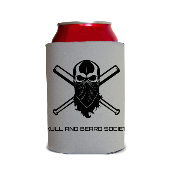 SBS Can Koozie - Skull and Beard Society