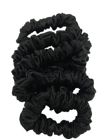 Silk Over-Size Scrunchies Set of 3