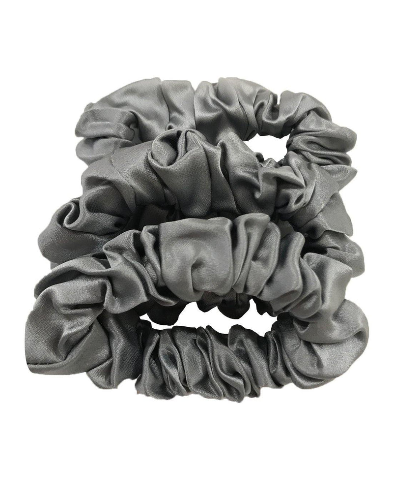 Silk Over-Size Scrunchies Set of 3 - Beausilk