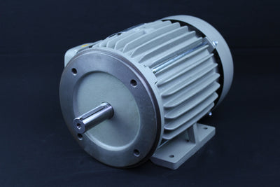 Three Phase Electrical Motor - 3HP - 208-230/460V - 1430/1720RPM - 50/60HZ - 184T C Face/Foot