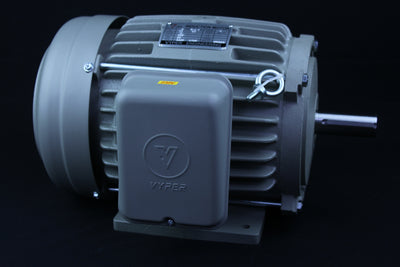Single Phase Electrical Motor - 3HP - 230V - 1430/1720RPM - 50/60HZ - 184T Foot