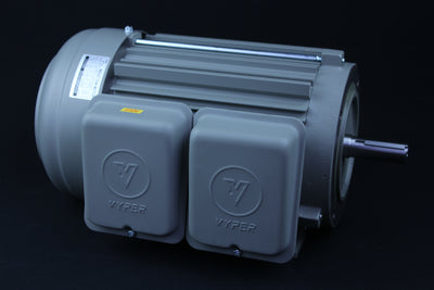 Single Phase Electrical Motor - 2HP - 115/230V - 1430/1720RPM - 50/60HZ - 145T C Face/Foot