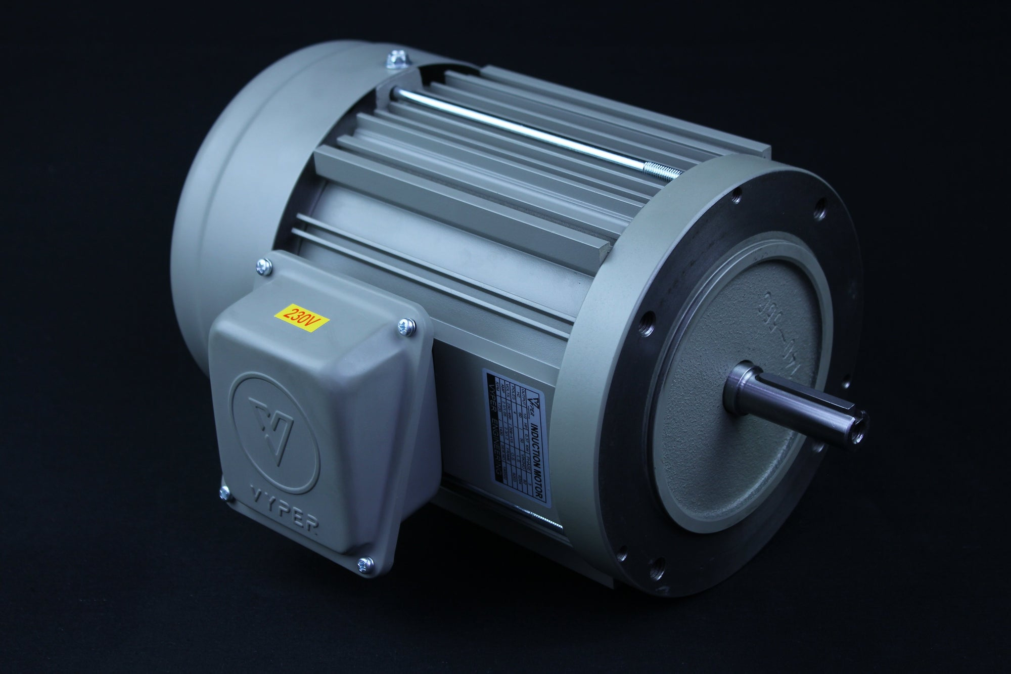Three Phase - 1/4HP - 208-230/460V - 3000/3600RPM - 50/60HZ - 63 - C Face - IE1
