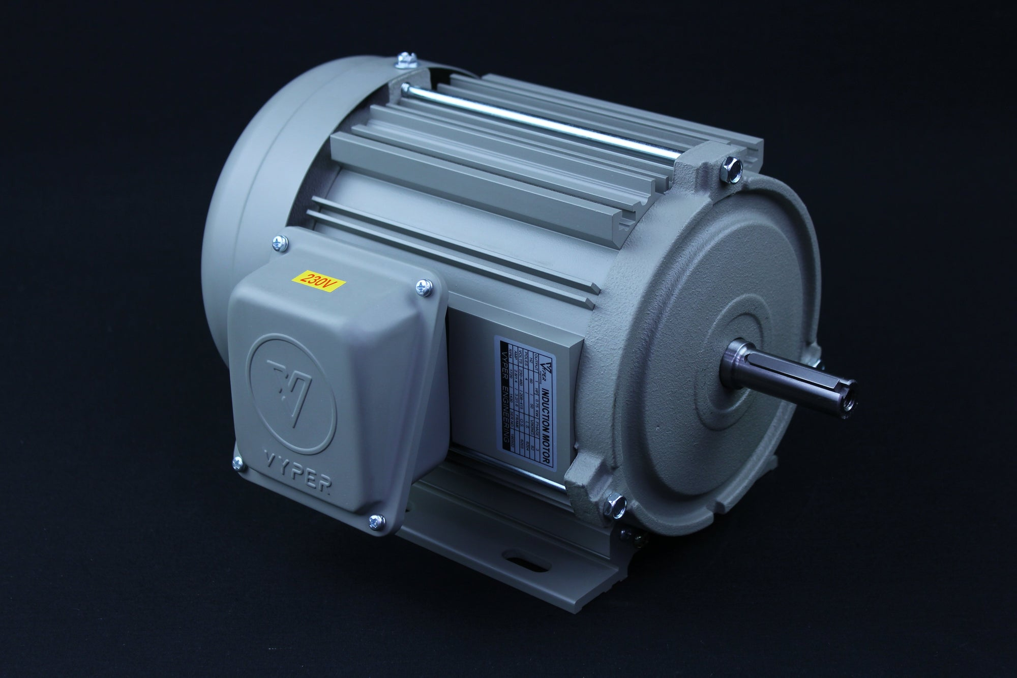 Three Phase - 1/4HP - 208-230/460V - 3000/3600RPM - 50/60HZ - 63 - Foot - IE1