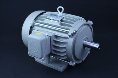 Three Phase Electrical Motor - 5HP - 208-230/460V - 1430/1720RPM - 50/60HZ - 184T Foot