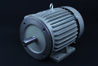 Three Phase Electrical Motor - 5HP - 208-230/460V - 1430/1720RPM - 50/60HZ - 184T C Face/Foot