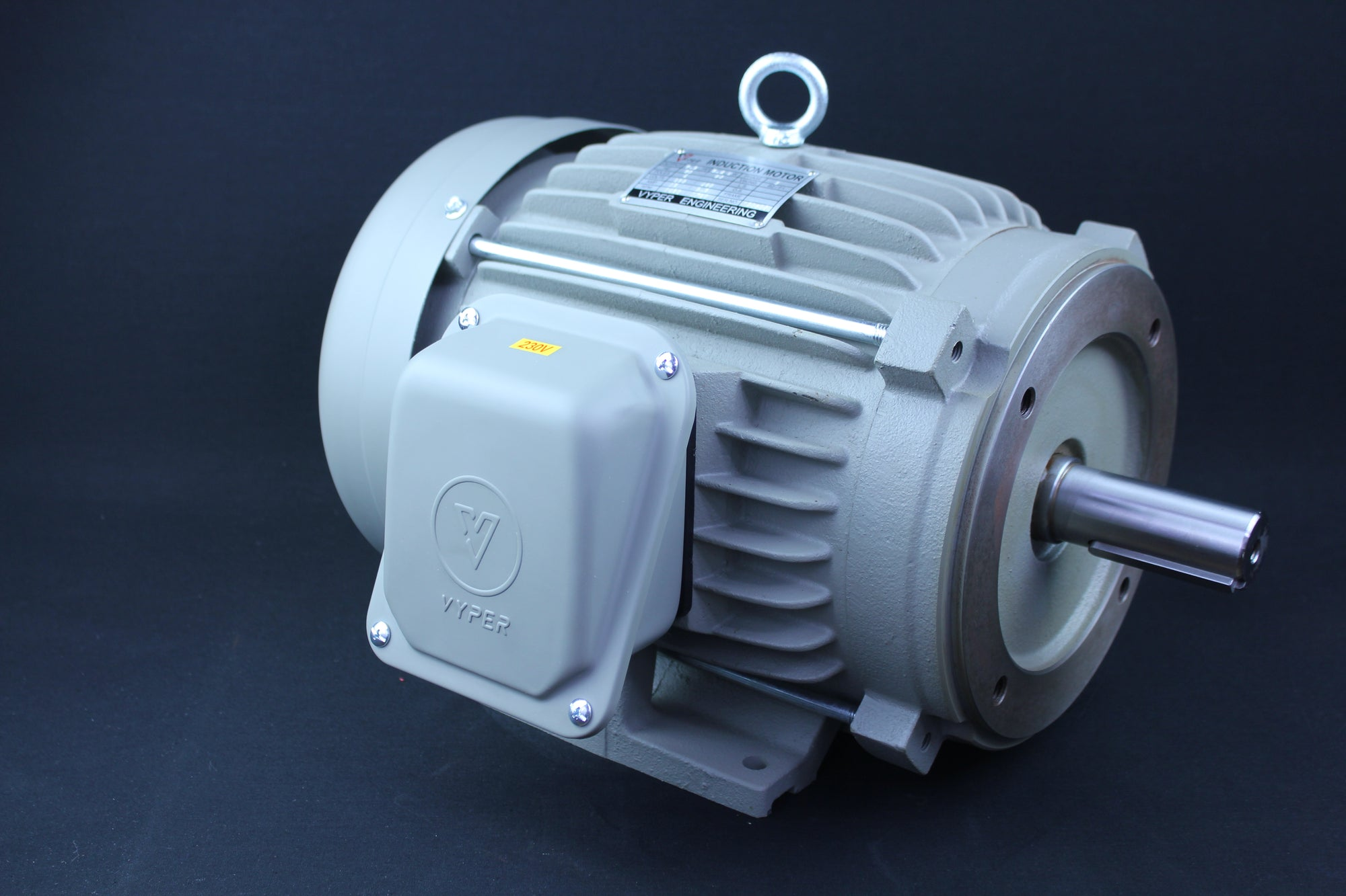 Three Phase Electrical Motor - 7.5HP - 208-230/460V - 1430/1720RPM - 50/60HZ - 213T C Face/Foot