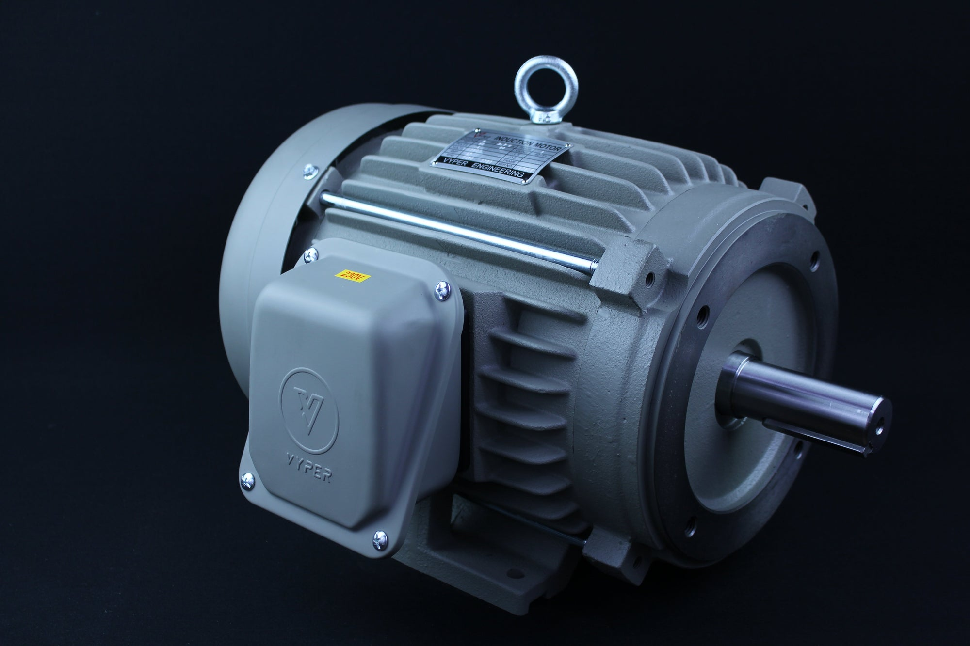 Single Phase Electrical Motor - 5HP - 230V - 3000/3600RPM - 50/60HZ - 184T - C Face/Foot