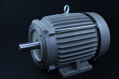 Single Phase Electrical Motor - 5HP - 230V - 1430/1720RPM - 50/60HZ - 213T C Face/Foot