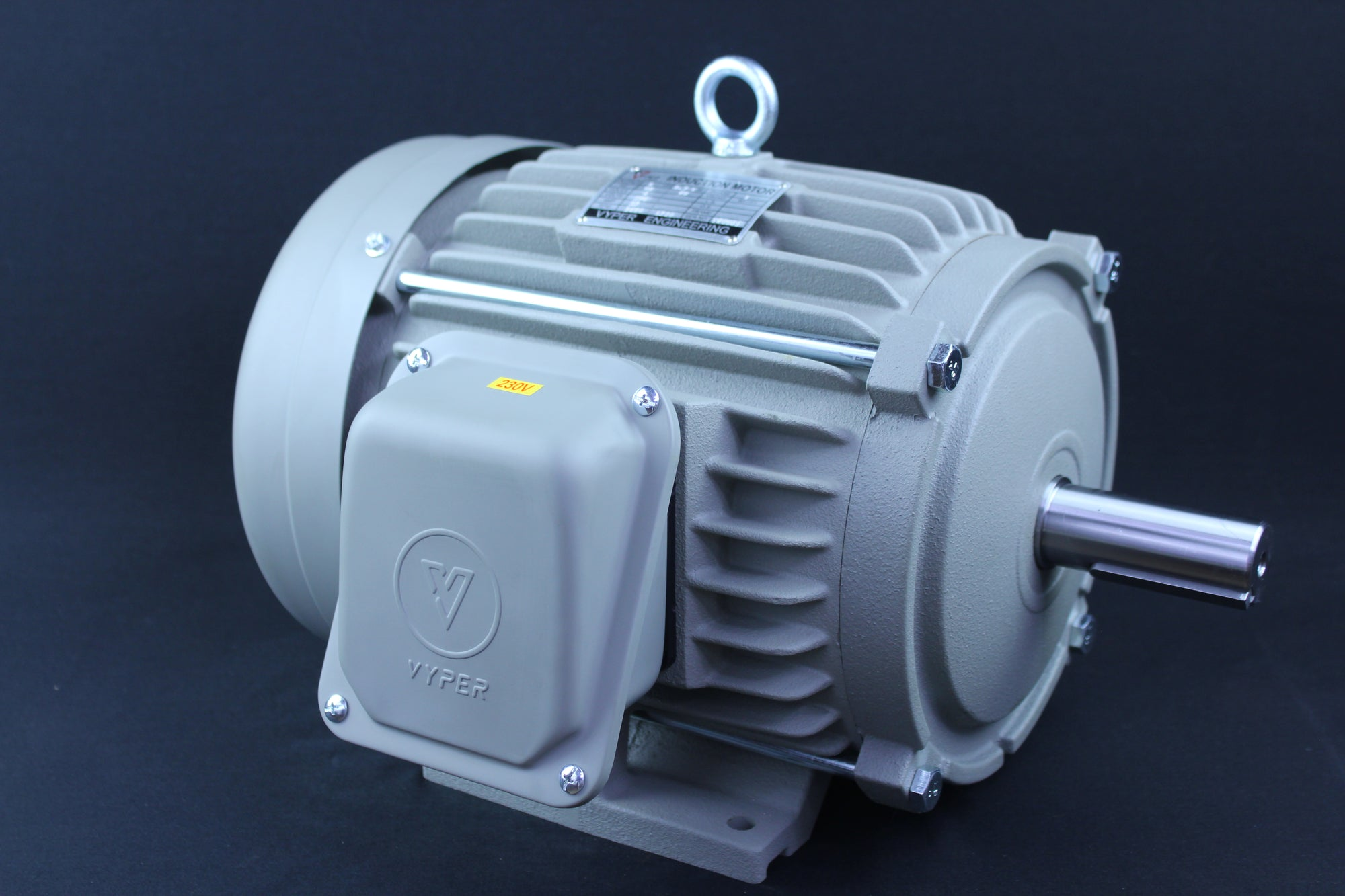 Single Phase Electrical Motor - 5HP - 230V - 1430/1720RPM - 50/60HZ - 213T Foot