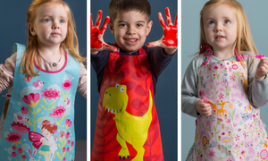 Children's aprons and tabard from ThreadBear Design
