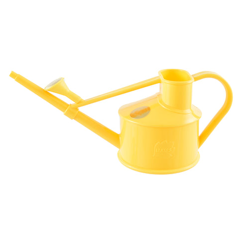 The Langley Sprinkler Watering Can in yellow