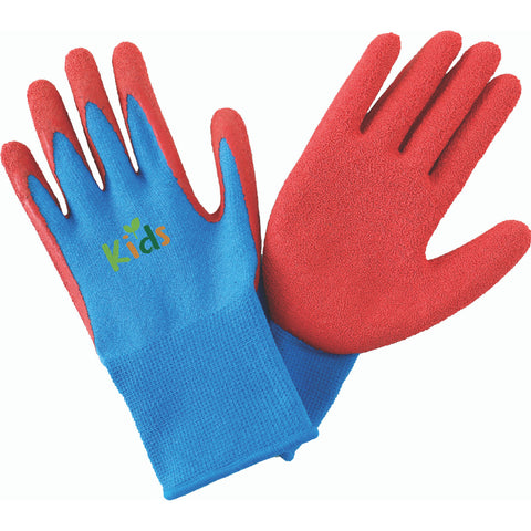 Kent & Stowe children's gardening gloves and red and blue