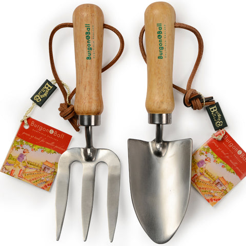Burgon & Ball children's trowel and hand fork